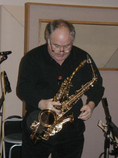 Daniel Huck et ses doubles sax